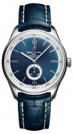 06_Premier_Automatic_40_with_blue_dial_and_blue_alligator_leather_strap