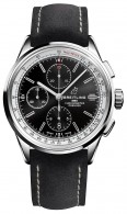 07_Premier_Chronograph_42_with_black_dial_and_black_nubuck_strap