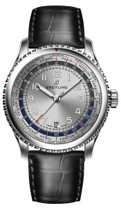 Navitimer_8_Unitime_with_silver_dial_and_black_alligator_leather_strap