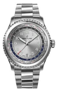 Navitimer_8_Unitime_with_silver_dial_and_stainless_steel_bracelet